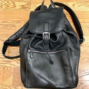 XL Black vinatge Coach backpack